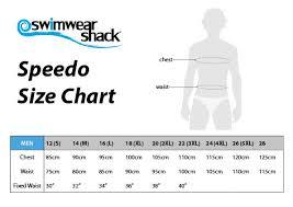 Swimwear Size Chart Speedo Swimwear Size Chart Swimwear Shack Online Swimwear
