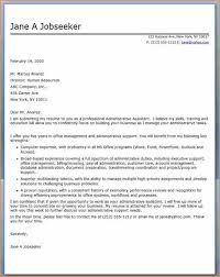 administrative assistant cover letter administrative assistant cover letter sample