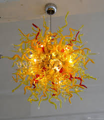 elegant italian modern led chandelier artistic hand blown glass pendant lighting fixtures for home chandelier design star chandelier from hotsunshine