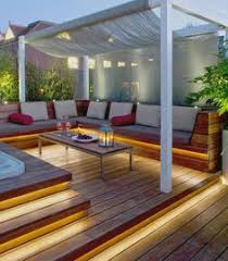 patio deck lighting ideas. Treat A Deck Or Porch Like Any Other Room And Illuminate The Space With Light. Garden Lighting IdeasOutdoor Patio Ideas