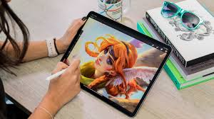 Drawing On Ipad Pro Ipad Pro 2018 Review Theres Much For Artists And Designers