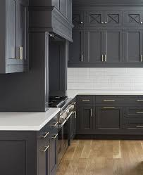 Contemporary Dark Kitchen Cabinets Colors How Amazing Do These On Decorating Ideas
