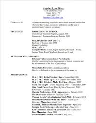 resume for hair stylist and cosmetologist pdf - Cosmetology Resume Template