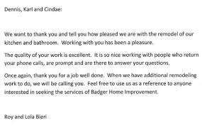 testimony badger home improvement testimony16