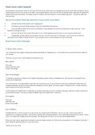 sample for cover letters email cover letter sample cover letter email format resume and in