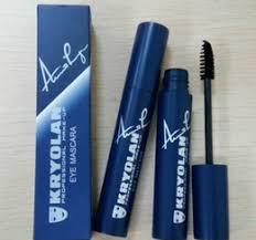 factory direct dhl new brand kryolan maa black maa waterproof elongation professional makeup