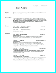 Exercise Science Resumes Science Resume Template Computer Science Resume Template Word