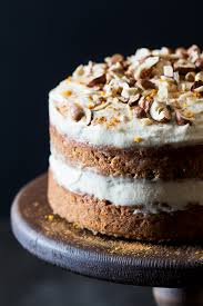 Vegan Carrot Cake With Cashew Frosting Lazy Cat Kitchen