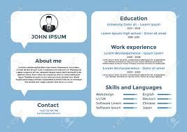 Graphic Designer Resume Template CV Design Resume Template Cv Vector Graphic Design Resume 51