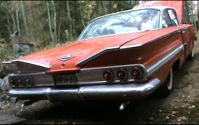 60 Chevrolet Impala Startup - YouTube