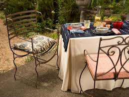 easy entertaining dress up a folding table with a fitted tablecloth