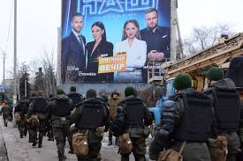 Ukraine is a country in eastern europe, formerly a part of the soviet union, bordering russia, romania and the black sea. Zelensky Is Fighting Pro Russia Propaganda And Medvedchuk As Ukraine Marks Seven Years Since The 2014 Euromaidan Revolution