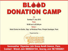 net article archive ▻pune ▻blood  08 07 2012 ▻pune ▻blood donation camp
