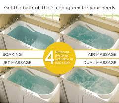 safety tub gelcoat value series 60 x 30 walk in bathtub in biscuit at menards