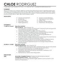 executive assistant resume summary designed specifically for executive  assistant roles the resume examples below are the