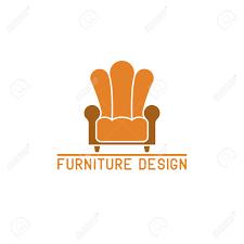 Furniture Logo Mockup Royalty Free Cliparts Vectors And Stock