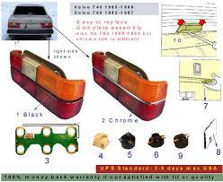 volvo parts volvo 240 parts volvo 850 parts volvo 740 parts volvo License Plate Light Kit at Volvo License Plate Light Wiring Harness