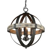 castello 4 light sphere chandelier artcraft lighting