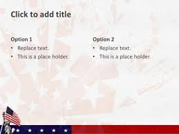 American Flag Powerpoint 10103 Usa Flag Freepowerpointtemplates 5 Free Powerpoint