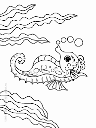 Octopus is one of the creatures of ocean among plenty. Ocean Animals Coloring Page Meriwer Coloring