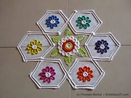 Small Picture Easy and small 7 by 4 dots rangoli Creative rangoli designs by