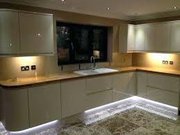 led lighting strips kitchen led strip lighting for kitchen units .