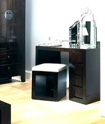 wooden makeup vanity phenomenal dark wood table amazing photos ideas house desk cherry plans black rustic