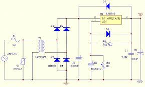 v v dc power supply schematic