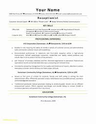 Office Assistant Resume New Resume Format Administrative Assistant