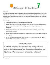 ideas for descriptive writing descriptive writing to go is writing assignments and