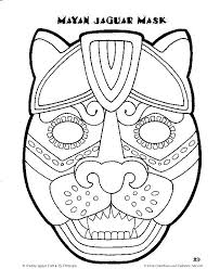 Small Picture mayan mask template Google Search Wednesday Night Bible Study