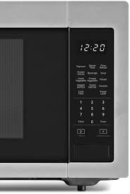 whirlpool wmc30516hz whirlpool 1 6 cu ft countertop microwave with 1 200 watt cooking