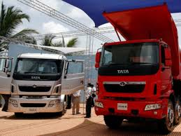 tata motors expects 15 per cent growth in mercial vehicles exports