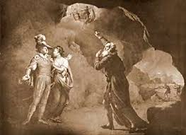 literature out loud acirc supernatural elements in ldquo the tempest rdquo  m da ferdinand and prospero near us and the goddesses entering at the top of the picture while prospero is pointing them
