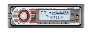 amazon com sony cdxm30 marine cd mp3 receiver (discontinued by Sony Marine Radio Wiring Diagram a marine cd receiver with a uv resistant coating and conformal circuit board coating sony marine stereo wiring diagram