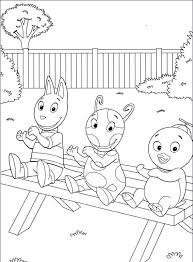 Small Picture Backyardigans Austin Coloring Page To Print vonsurroquen