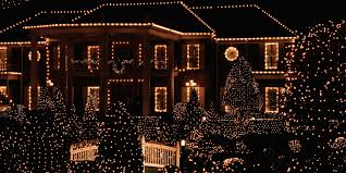christmas lighting ideas. 20 Outdoor Christmas Light Decoration Ideas - Outside Lights Display Pictures Lighting E