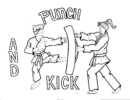 You can find so many unique, cute and complicated pictures for children of all ages as well as many g. Karate Kid Coloring Pages Coloring Home