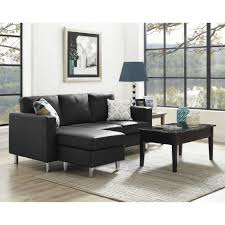 small sectional with chaise. Livingroom:Furniture Small Sectional Couches Beautiful Chaise Leather Pretty Scale Sofa Spaces Faux Red Black With