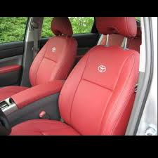LEATHER CAR SEAT COVERS FOR TOYOTA PRIUS TOYOTA AURIS SKODA ...