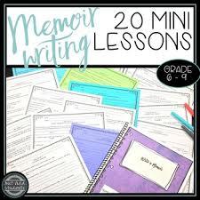 Memoir Writing Workbook Personal Narrative Essay Creative Writing