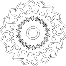 Mandala Untitled 5 03 Coloring Pages