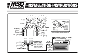 msd coil wiring diagram wiring diagram and hernes msd wiring schematic diy diagrams