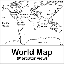 When you order $25.00 of eligible items sold or fulfilled by amazon. World Map Coloring Page For Kids Coloring Home