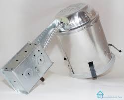 Install Recessed Lighting Remodel Retrofit Recessed Lighting Insulation Retrofit Recessed Light