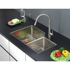undermount rectangular bathroom sink ruvati rvh8150 undermount 16 gauge 33 kitchen sink double bowl