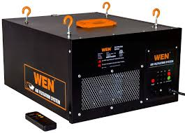 Wen 3410 3 Speed Remote Controlled Air Filtration System 300 350