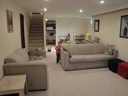 Small Picture Excellent Best Carpet Tiles For Basement Surprising Basement With