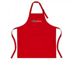 kitchen apron. thinkkitchen kitchen apron red