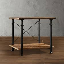 Myra II Vintage Industrial Modern Rustic End Table by iNSPIRE Q Classic by  iNSPIRE Q